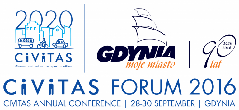 CIVITAS forum in Gdynia 28-30 September 2016