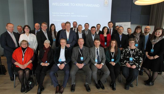 UBC Executive Board meeting in Kristiansand